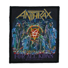 patch ANTHRAX - FOR ALL KINGS - RAZAMATAZ, RAZAMATAZ, Anthrax