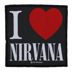 patch NIRVANA - I LOVE NIRVANA - RAZAMATAZ - SP2969