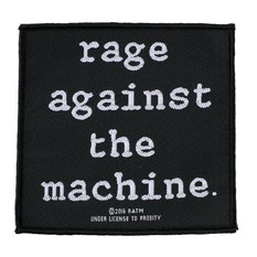 patch RAGE AGAINST THE MACHINE - LOGO - RAZAMATAZ, RAZAMATAZ, Rage against the machine
