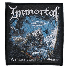patch IMMORTAL - AT THE HEART OF WINTER - RAZAMATAZ, RAZAMATAZ, Immortal