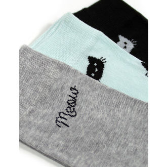 Set of socks (3 pairs) FEARLESS - WEIRD Girl, FEARLESS