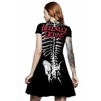 Women's dress KILLSTAR - Rob Zombie - Foxy Bones Skater - BLACK, KILLSTAR, Rob Zombie