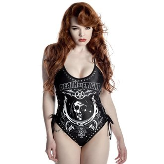 swimsuits women KILLSTAR - Fright Night - Black, KILLSTAR