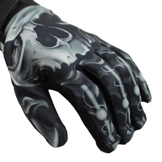 Gloves LETHAL THREAT - SKULL BIOMECHANICAL, LETHAL THREAT