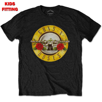 t-shirt children's Guns N' Roses - Classic Logo - ROCK OFF, ROCK OFF, Guns N' Roses