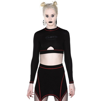 Crop women's t-shirt with long sleeves (crop top) KILLSTAR - Hacker, KILLSTAR