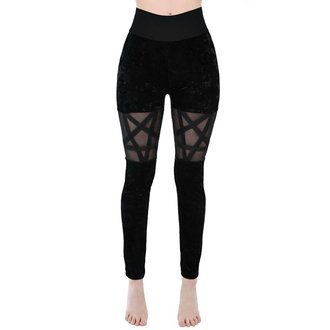 Women's Leggings KILLSTAR - HELLION - BLACK - KSRA000052