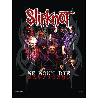 flag Slipknot - We won't Die - HFL0630