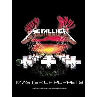 flag Metallica - Master Of Puppets - HFL108