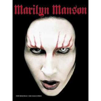 flag Marilyn Manson - Head Shot - HFL0315