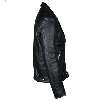 Men's leather jacket  STRAIGHT TO HELL - Commando Blk Nick, STRAIGHT TO HELL