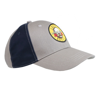 cap Guns N' Roses - Circle Logo GRAY / NAVY - ROCK OFF, ROCK OFF, Guns N' Roses