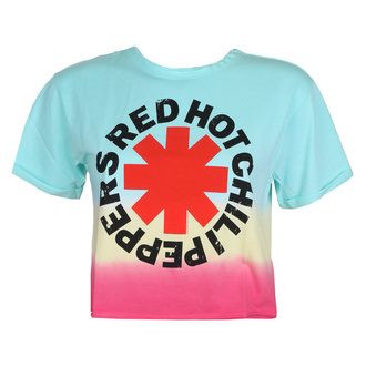 Women's t-shirt (top) RED HOT CHILI PEPPERS - TEAL TO PINK - AMPLIFIED, AMPLIFIED, Red Hot Chili Peppers