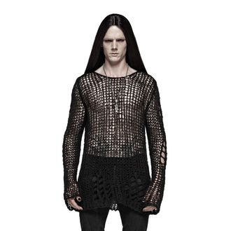 Men's jumper PUNK RAVE - Black Ruin, PUNK RAVE