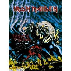 flag Iron Maiden - Number Of The Beast - HFL0049