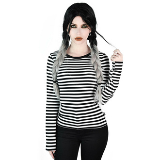 Women's t-shirt with long sleeves KILLSTAR - Jett - WHITE, KILLSTAR