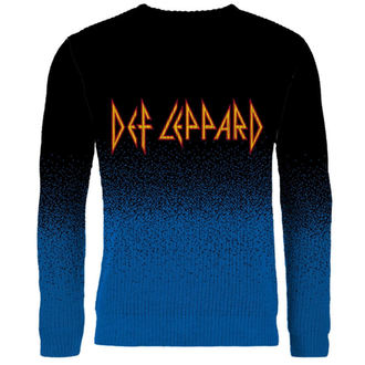 Sweater Men's DEF LEPPARD - LOGO - PLASTIC HEAD, PLASTIC HEAD, Def Leppard