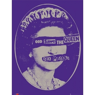poster - SEX PISTOLS - Gog Save the Queen - LP1034 - GB posters
