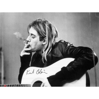 poster - Nirvana - Kurt Cobain - smoking - LP1151 - GB posters