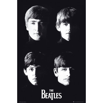 poster The Beatles - With The - GB Posters - LP1551