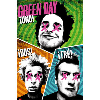 poster Green Day - Trio - GB Posters - LP1564