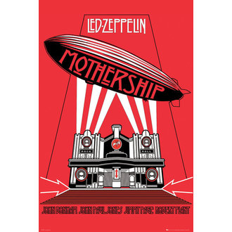 poster Led Zeppelin - Mothership - GB Posters - LP1570
