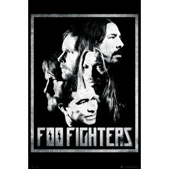 poster Foo Fighters - Group - GB Posters - LP1576