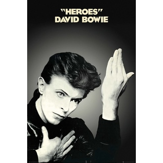 Poster DAVID BOWIE - HEROES - GB posters, GB posters, David Bowie