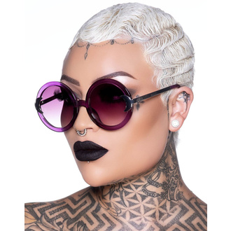 Sunglasses KILLSTAR - Lunar Doll - PURPLE, KILLSTAR