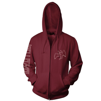 Men's hoodie Led Zeppelin - Symbols Maroon, NNM, Led Zeppelin