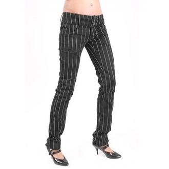 pants women ADERLASS - mdoe wichtig - Pretty Low-Cut Pin Stripe - M-1-07-050-01