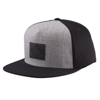 cap METAL MULISHA- PITCH - BLK, METAL MULISHA