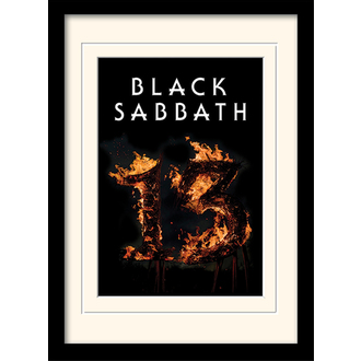 Framed poster Black Sabbath - (13) - PYRAMID POSTERS, PYRAMID POSTERS, Black Sabbath