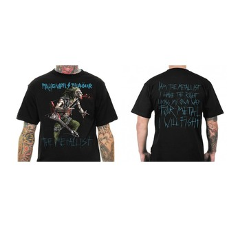 t-shirt metal men's Malignant Tumour - THE METALLIST WITH GUITAR - NNM - MT008
