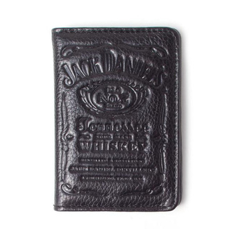 Leather ID card holder JACK DANIELS, JACK DANIELS