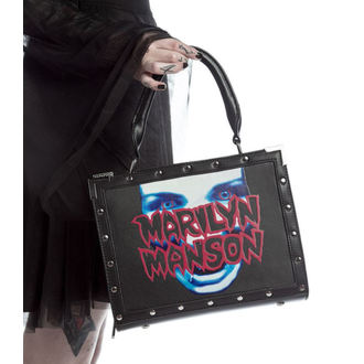 handbag (bag) KILLSTAR - MARILYN MANSON - My Metal - Black, KILLSTAR, Marilyn Manson