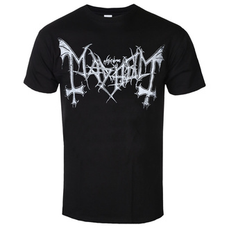 t-shirt metal men's Mayhem - Distressed Logo - RAZAMATAZ, RAZAMATAZ, Mayhem