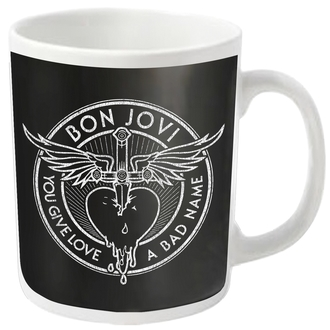 cup BON JOVI - BAD NAME - PLASTIC HEAD, PLASTIC HEAD, Bon Jovi