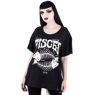 t-shirt women's - Pisces - KILLSTAR - KSRA000469