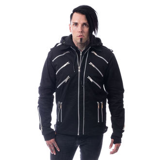 men´s jacket Vixxsin - BRANDO - BLACK, VIXXSIN