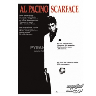 poster Scarface (Movie One-sheet) - PP30091 - Pyramid Posters