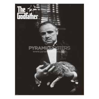 poster - The Godfather (Cat B & W) - PP30526 - Pyramid Posters