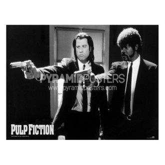 poster - Pulp Fiction (B & W Guns) - PP31059 - Pyramid Posters