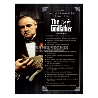 poster - The Godfather (Everything I Know) - PP31625 - Pyramid Posters