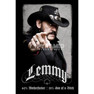 poster Lemmy (49% Mofo) Motörhead - PP31980 - PYRAMID POSTERS
