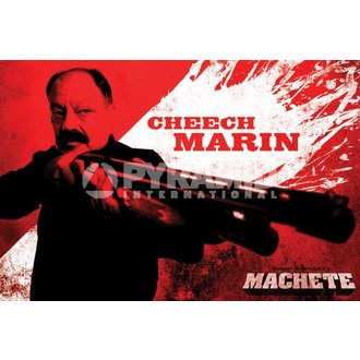 poster Necam - Machete (Cheech) - PYRAMID POSTERS - PP32374