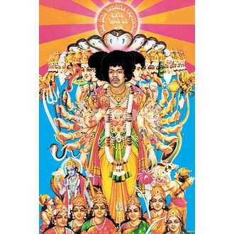 poster Jimi Hendrix (Axis Bold As Love) - PYRAMID POSTERS - PP32439