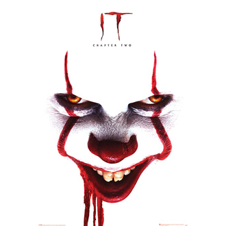 Poster IT 2 - Pennywise face - PYRAMID POSTERS - PP34579