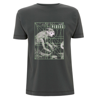 Men's t-shirt Pixies - Monkey Grid - Charcoal, NNM, Pixies