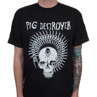 Men's t-shirt Pig Destroyer - Prescott - Black - INDIEMERCH, INDIEMERCH, Pig Destroyer